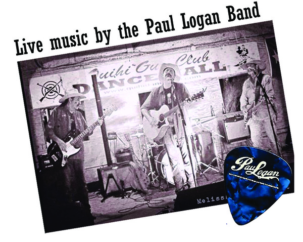 Paul Logan Band Pic with Pick
